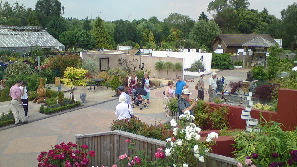 The Stonemarket Display Centre at Russells Garden Centre