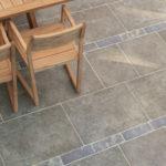 Natural brown limestone
