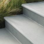 Bullnose natural slate step treads